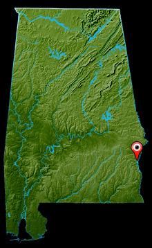 Lake Eufaula Map