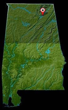 Lake Guntersville Map