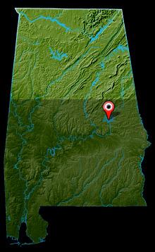 Lake Martin Map