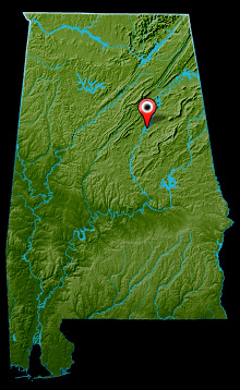 Logan Martin Lake Map