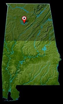 Lewis Smith Lake Map