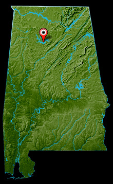 Lewis Smith Lake Map