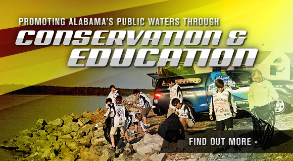 Promoting Alabama's Public Waters through Conservation & Education
