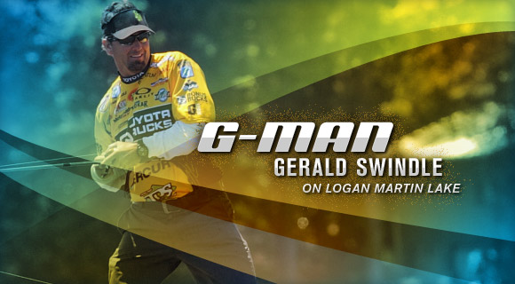 G-Man Gerald Swindle on Logan Martin Lake