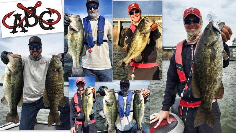 Wilson lake fishing report alabama bass guide alabama for Alabama bass fishing reports