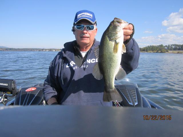 Fishing report lake guntersville 1 17 16 alabama bass for Alabama bass fishing reports
