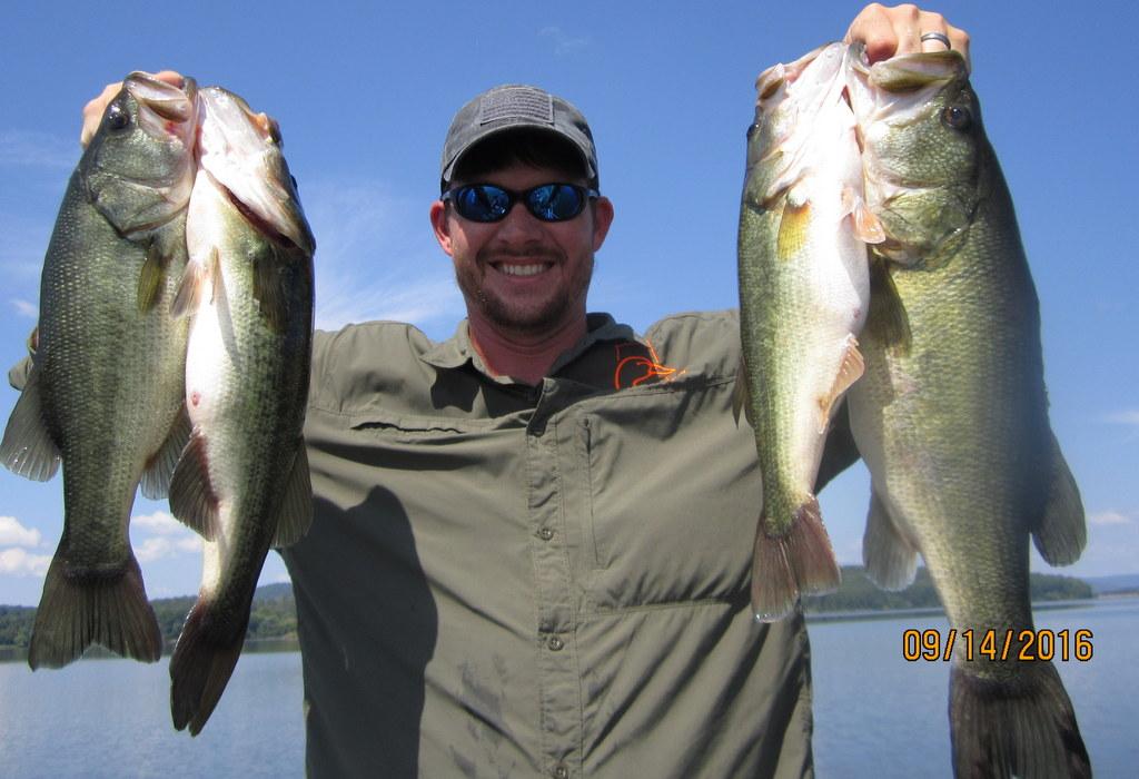 Fishing report lake guntersville 9 18 16 alabama bass for Alabama bass fishing reports