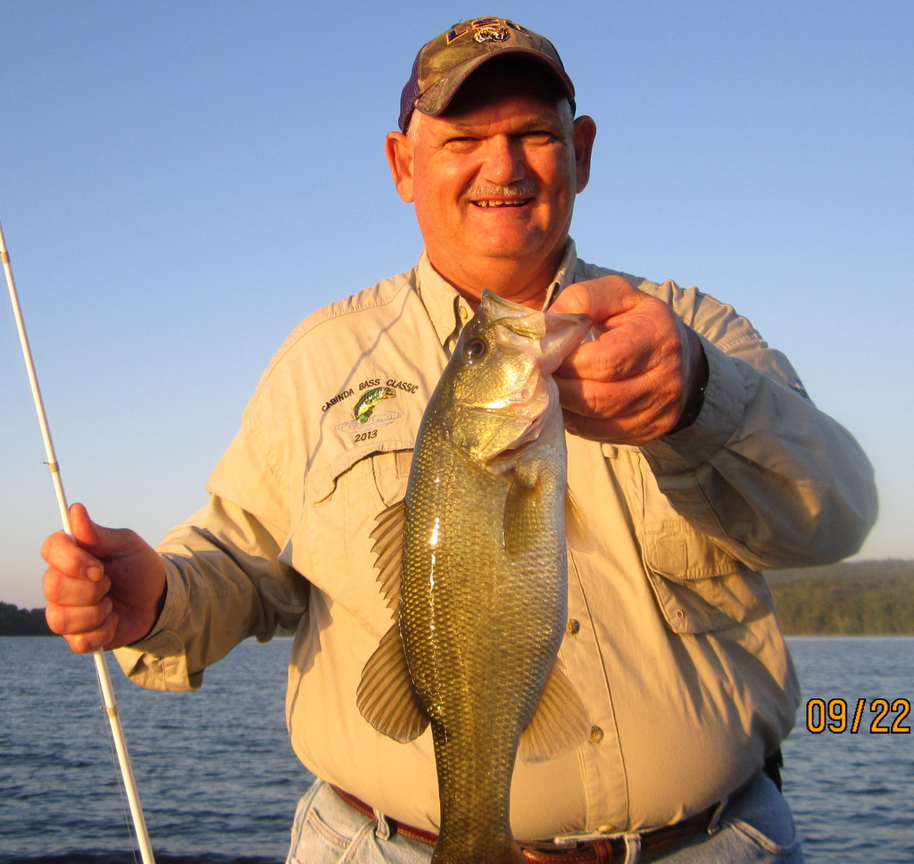 Fishing report lake guntersville 9 25 16 alabama bass for Fishing report lake guntersville
