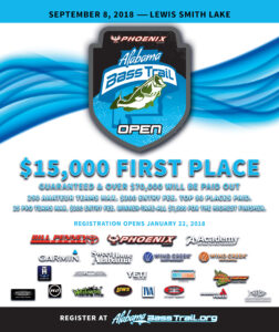 Alabama Bass Trail Tournament Series 2018 Open