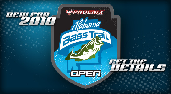 New for 2018 - Alabama Bass Trail Open - Get the Details
