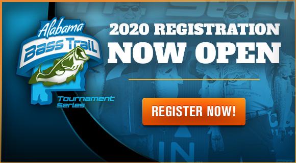Alabama Bass Trail Tournament Series 2020 Registration Now Open