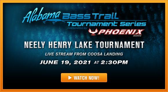 Alabama Bass Trail Tournament Series 2021 Live Streamt