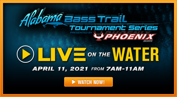 Alabama Bass Trail Tournament Series Live on the Water